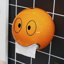 ABS Plastic toilet paper holder bathroom roll paper holder A variety of colors Creative Roll tissue box Free Shipping ZWJ-005(China (Mainland))