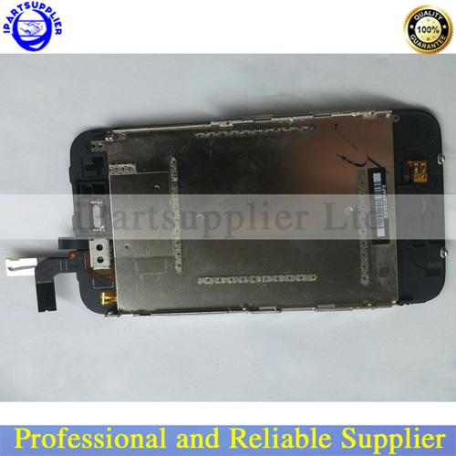Top Quality LCD & Digitizer Assembly For iPhone 3GS black/white (free shipping)(China (Mainland))