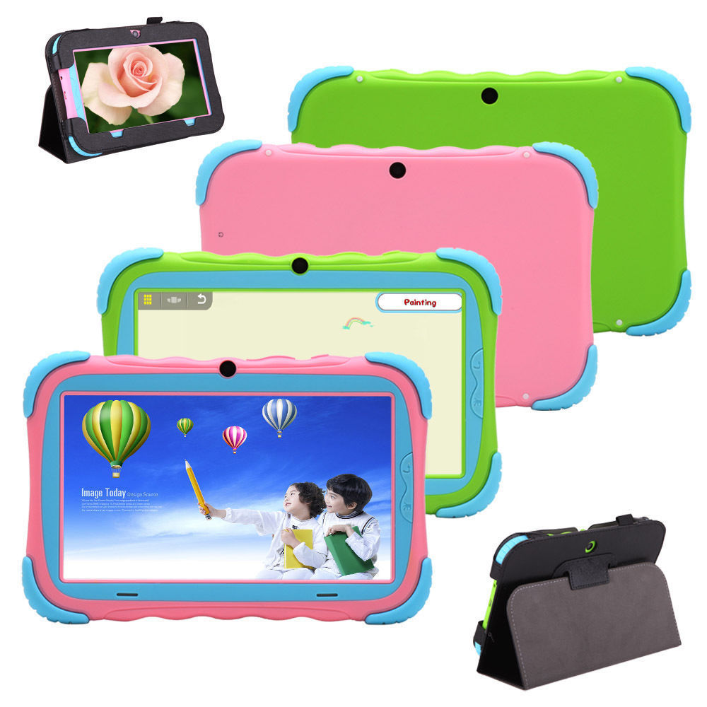"iRulu New BabyPad Tablet PC 7"" Android 4.2 8GB Dual Core Dual Camera Google Android Learning Kids Toy w/ Free Case Education TOY(China (Mainland))"
