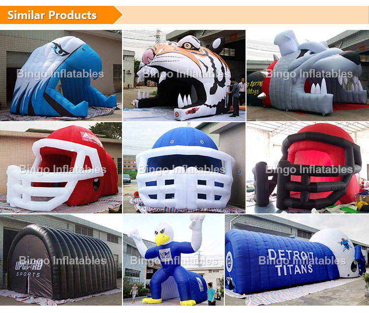inflatable football tunnel sports tunnel entrance tunnel giant tunnel with ce ul_02