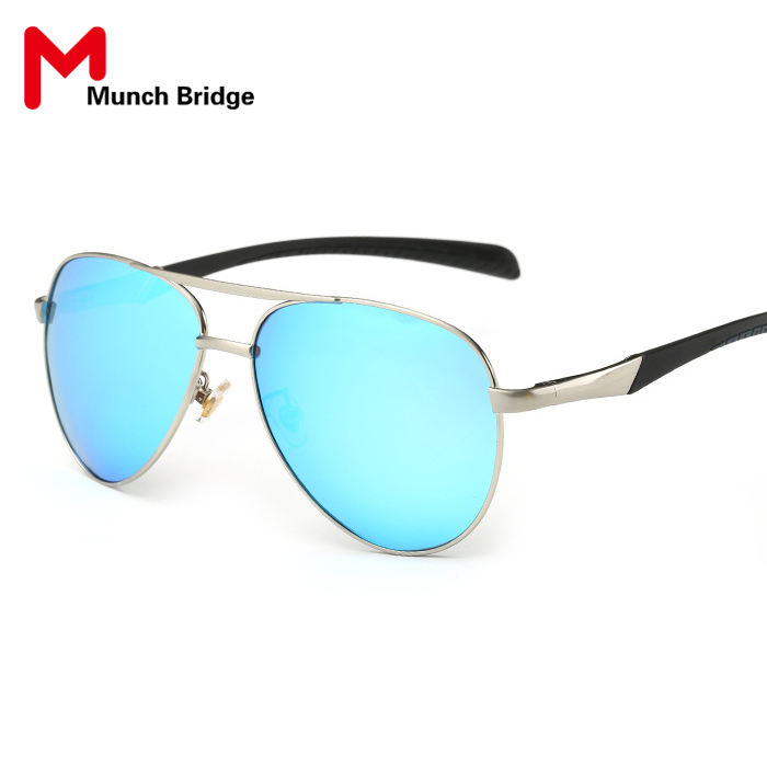 aviator sunglasses mens  2016 Brand Designer Aviator Sunglasses Men Women Vintage Polarized  Sunglasses Metal Frame Colorful Lens Leisure Eyewear