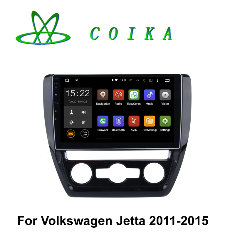 Quad Core Android 5.1 Car GPS Radio For Volkswagen Jetta 2011 2012 2013 2014 2015 Receiver Quad Core 1024*600 Resolution WIFI 3G(China (Mainland))