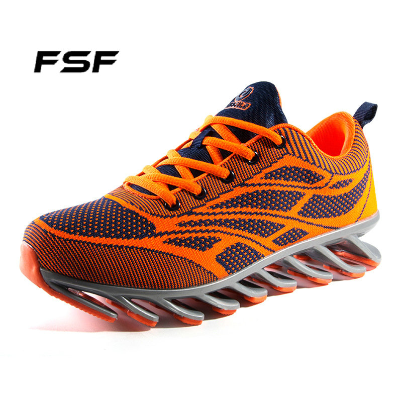 FSF Blade Design Running Shoes 3 Colors Comfortable Athletic Sports Men Sneakers Eur Size 39-44 Sales MS035