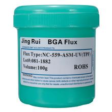 Hot Sale 100g Good weldability NC-559-ASM BGA Reballing Solder Paste Flux Grease For SMT BGA Reballing Soldering Welding Repair(China (Mainland))
