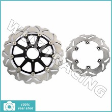 Front Rear Brake Discs Rotors Aprilia MX 125 04 05 06 07 RS REPLICA / Extrema 92 93 94 95 96 97 - Wuxi Thai-Racing Trade Co., Ltd. store