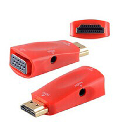 free shipping 1080P HDMI Male to VGA Female Video Converter Adapter Cable for PC DVD HDTV(China (Mainland))