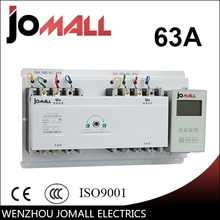Jomall 63A 4 poles 3 Phase automatic transfer switch ats  with English controller(China (Mainland))