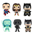 2016 new Genuine funko pop movie super heroes Batman vs Superman Aquaman Wonder Woman model Action