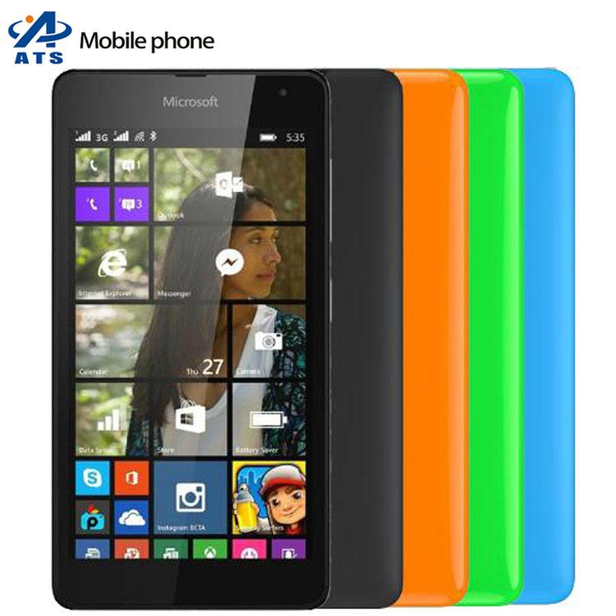 "535 Orignal Nokia Microsoft Lumia 535 Mobile Phone 5MP Camaera 5.0 "" Dual sim WIFI GPS One Year Warranty(China (Mainland))"