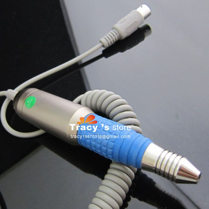 Free Shipping Blue Handpiece for 248 - Electric Nail Art Manicure Drill File Supply 20000RPM Wholesale(China (Mainland))
