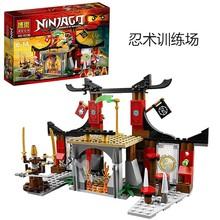 New 214pcs BELA 10319 Dojo Showdown Minifigures Ninja Jouet De Construction  Building Block  Toys boy gift(China (Mainland))