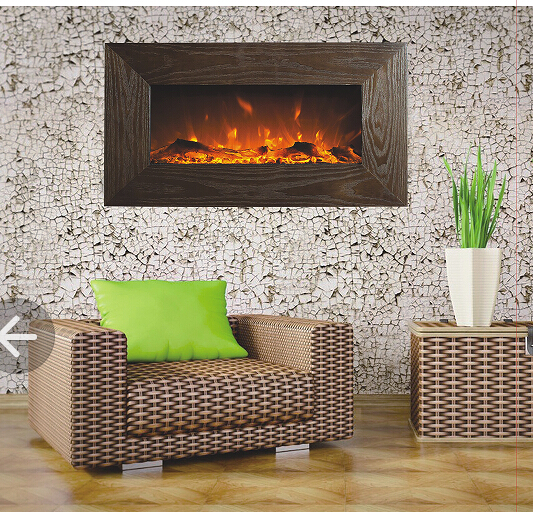Realistic Electric Fireplace Decorative Electric Fireplace Wall Mounted Elect