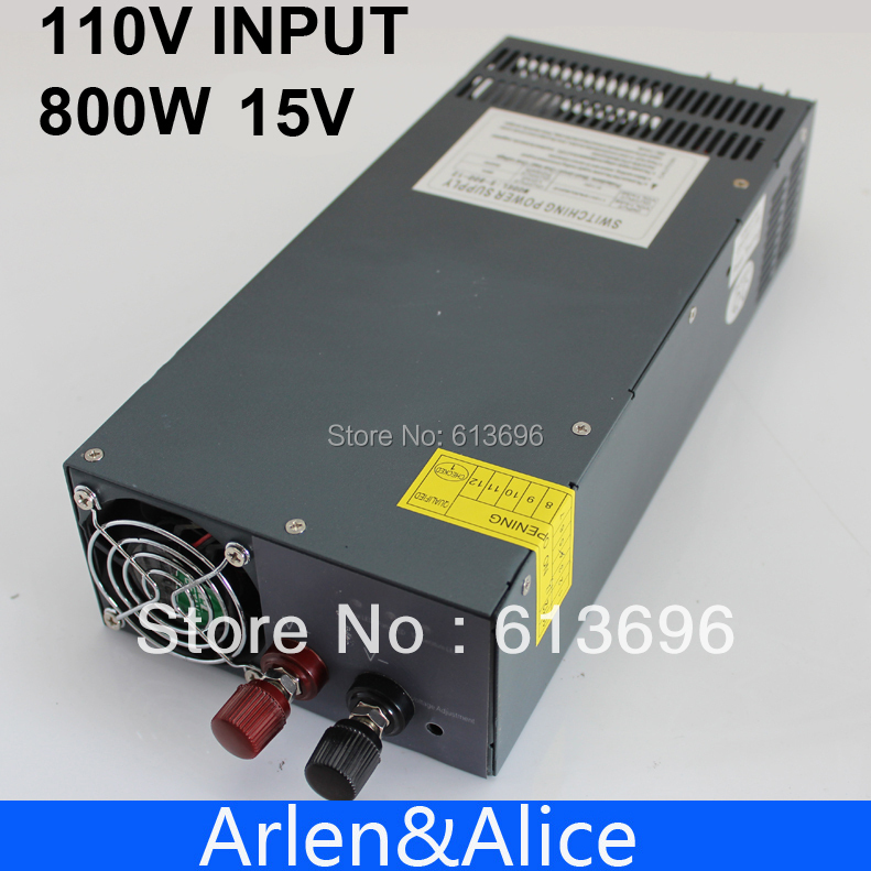 Фотография 800W 0V TO 15V 54A 110V Single Output Switching power supply for LED Strip light AC to DC