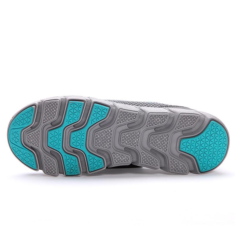 Lemai 2016 новые люди свободного покроя обувь, Летом воздухопроницаемой сеткой Zapatillas для женщин супер свет квартиры обувь, Обувь для ходьбы FB012