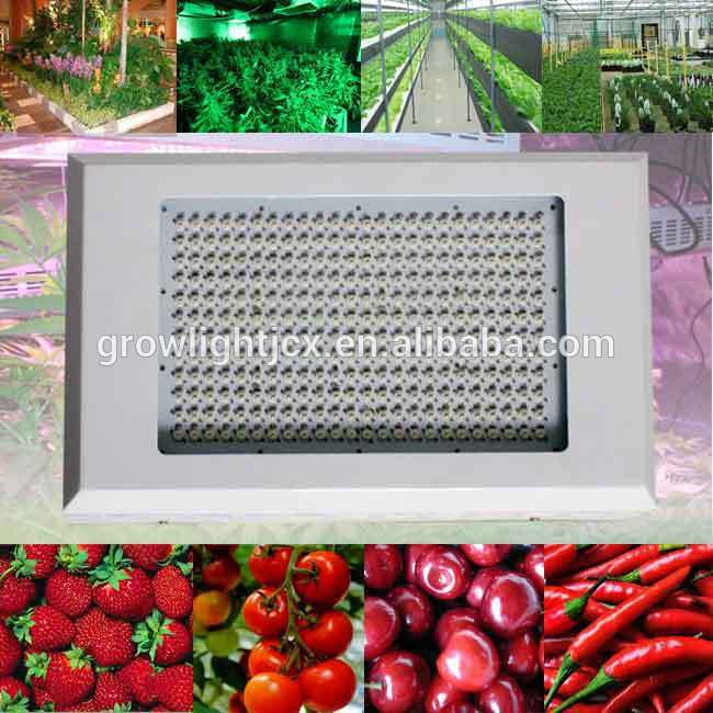 600w(288x3w) led grow light 3 watt leds high power for greenhouse hydroponic and aquaponic,AC85-265V grow lighting,freeshipping(China (Mainland))