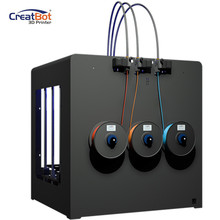 Dual Extruder Creatbot 3d printer Large metal / DG02 600*600*600mm industrial DIY kit print from tablet/laptop ABS 3D Printer