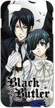 Retail Painting Anime Black Butler Cell Phone Case For iphone 4 4S 5 5S SE 5C 6 6S Plus For iPod Touch 4 5 6 Plastic Hard Cover(China (Mainland))