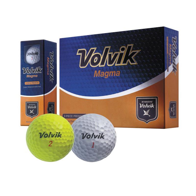 VOLVIK Korean new ball golf balls golf practice balls three men genuine ball magma, hardness: 80-90(China (Mainland))