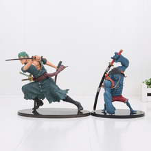 Buy 13-18cm Amine POP One Piece Monkey D Nightmare Luffy Roronoa Zoro PVC Action Figure Toys Gifts Model for $16.65 in AliExpress store