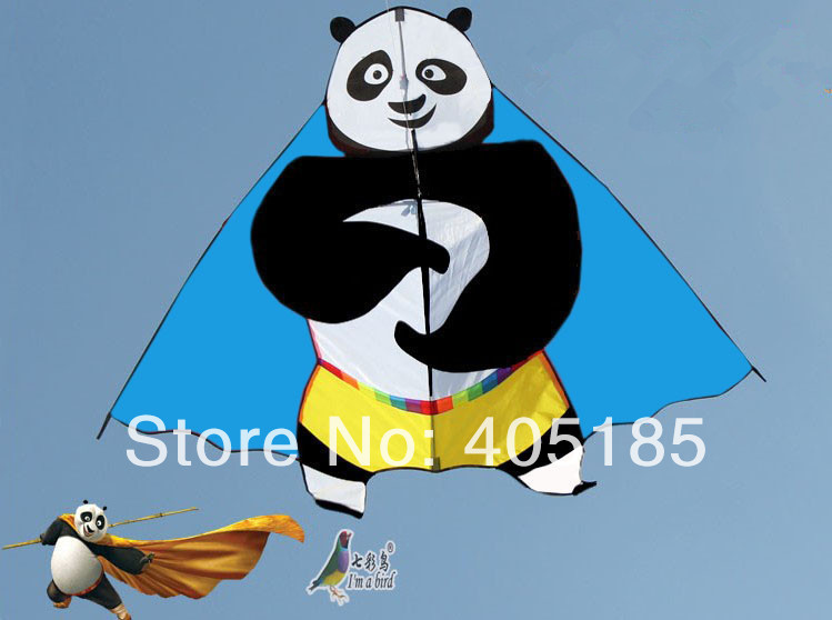 Outdoor Fun Sports Panda Kite 2013 New Good Flying Many Colors To Choose(China (Mainland))