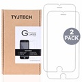 2 Pack Tempered Glass Screen Protector for iPhone 6 Plus 6S Plus Explosion Proof HD Clear