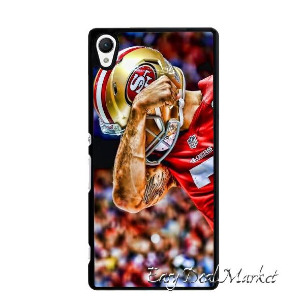 San Francisco 49ers Colin Kaepernick Cover Case for IPhone 4 4s 5 5s 5c 6 6s plus Sony Z Z1 Z2 Z3 Z4 Z5 mini C C3 C4 C5 M2 M4 T3(China (Mainland))