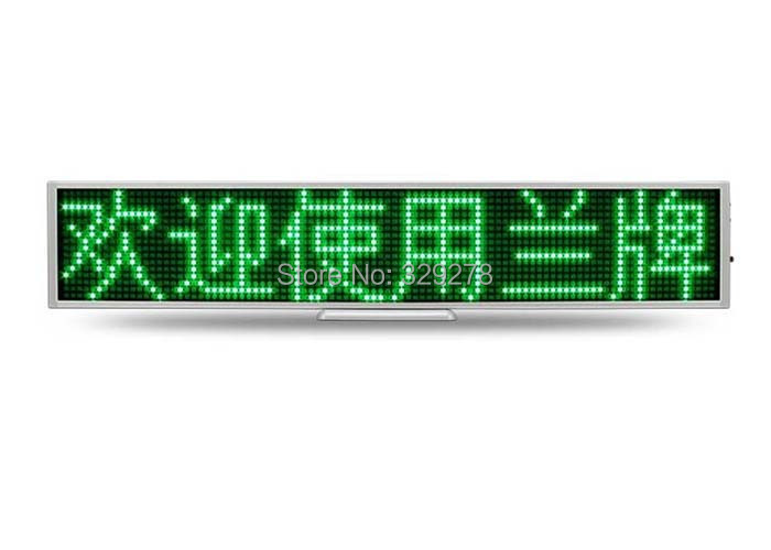 Door window Green led text display panel sign label indoor advertising mini led message display board Support any language(China (Mainland))