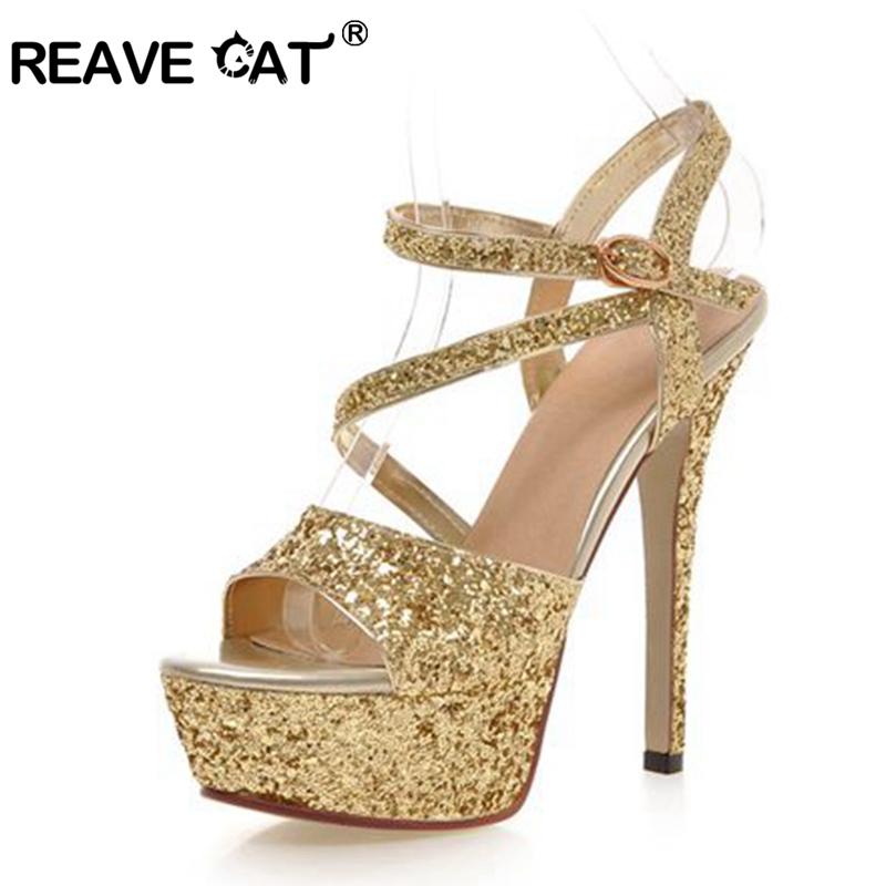 Heel Silver Glitter Sandal Promotion-Shop for Promotional Heel
