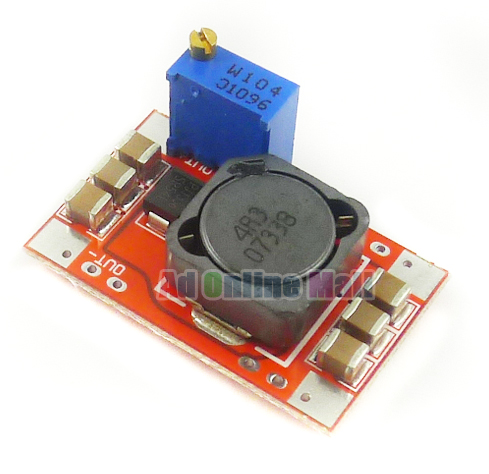DC Converter Step Up power module Wide Voltage Input 2.5-25V to 5-25V Boost Linear Power 5PCS(China (Mainland))