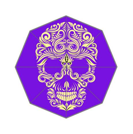 Cool Art Skull Custom Umbrella Fashion Design Umbrella For Man And Women High Quality Free Shipping Hot Sale UMN-925(China (Mainland))