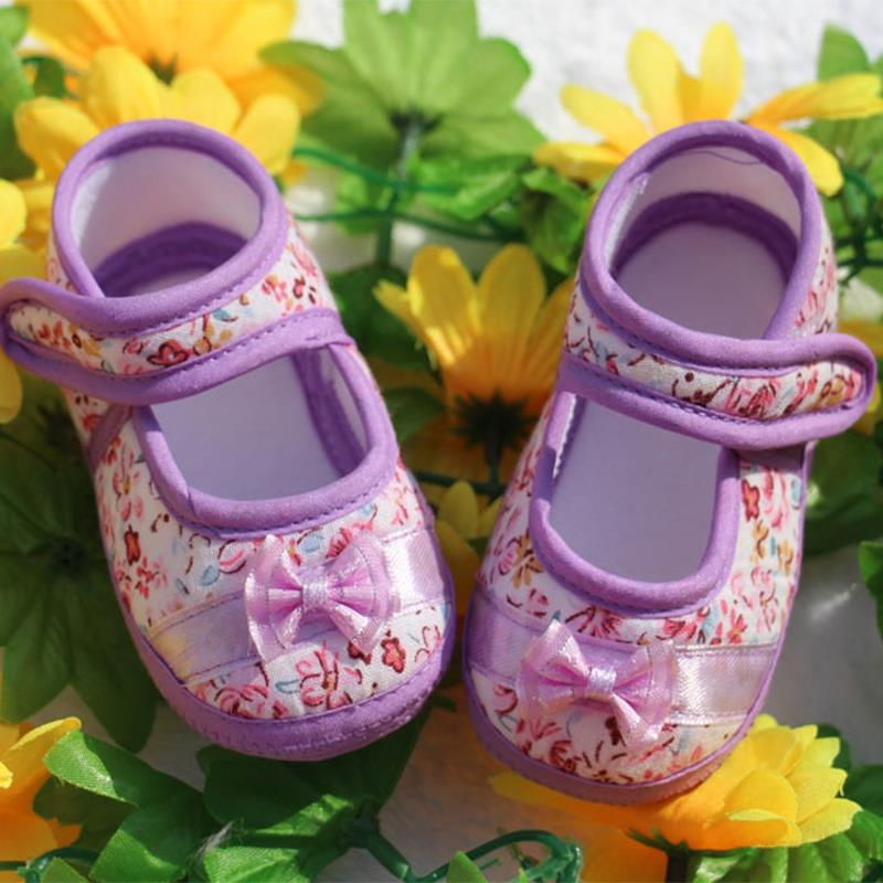 Hot Sale 2016 Spring Autumn Baby Girls Fowers Butterfly Baby Shoes Cotton Fabric First Walkers Children Footwear(China (Mainland))