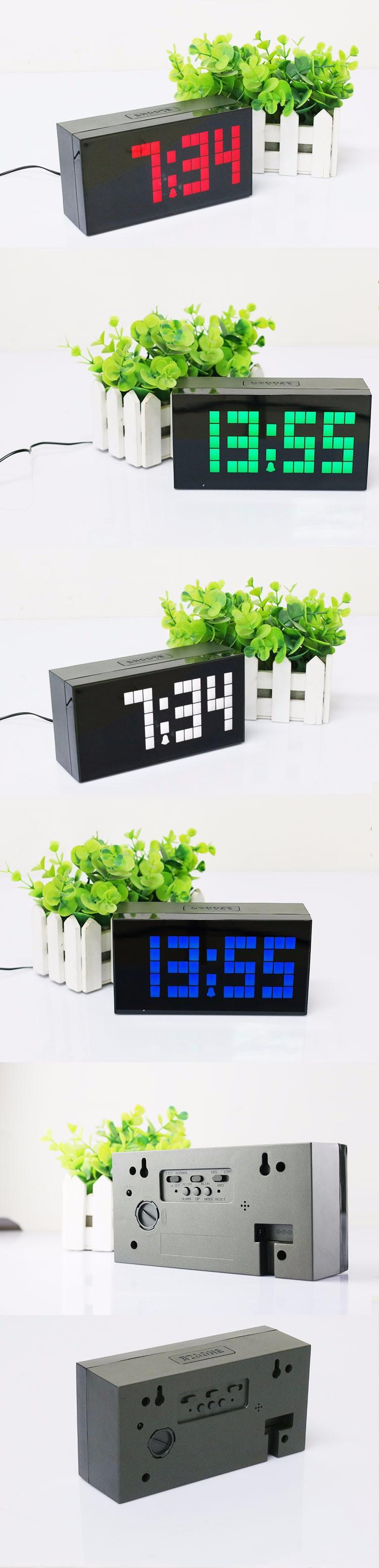 Настенные электронные часы с большими цифрами своими руками 79
