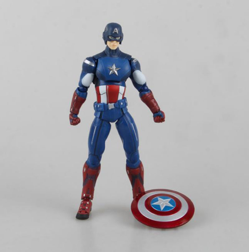 Best Super Hero Toys And Action Figures : Aliexpress buy cm super hero the avengers figma