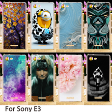 Buy Soft Phone Cases Sony Xperia E3 Dual D2203 D2243 6.1 inch D2202 D2206 d2215 Cases Hard Back Cover Skin Housing Sheath Bag for $2.06 in AliExpress store