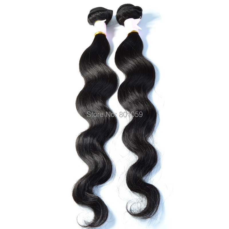 Virgin Filipino Body Wave Hair Extension Mix Lot Unprocessed Weaves Jet Black Human Wavy - Vane Extensions-Factory Direct Supply store