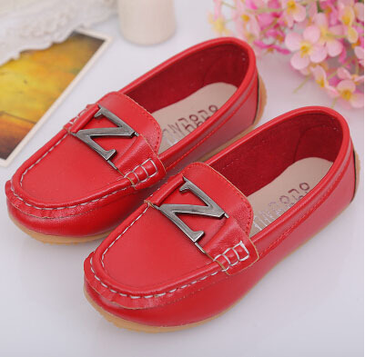 New Spring Autumn Children's Shoes Baby Moccasins Fashion PU Leather Boys Girls Shoes Kids Sport Casual Running Shoes Loafers 3A(China (Mainland))
