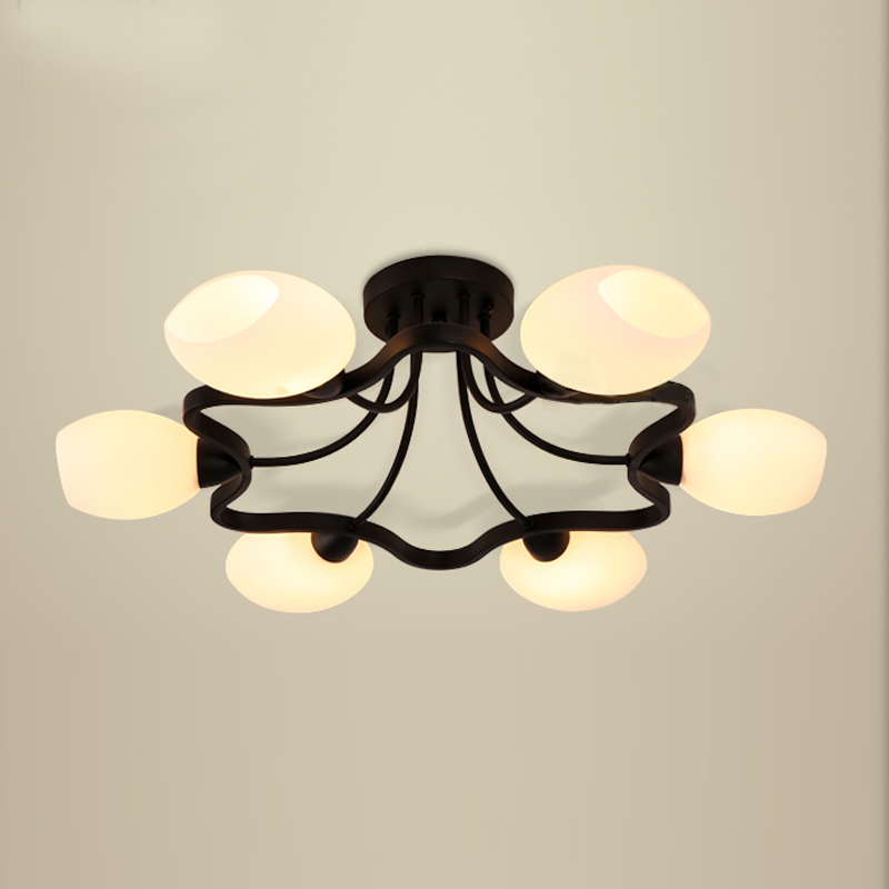 Alibaba Modern Ceiling Lights : Flush mount ceiling light round led modern