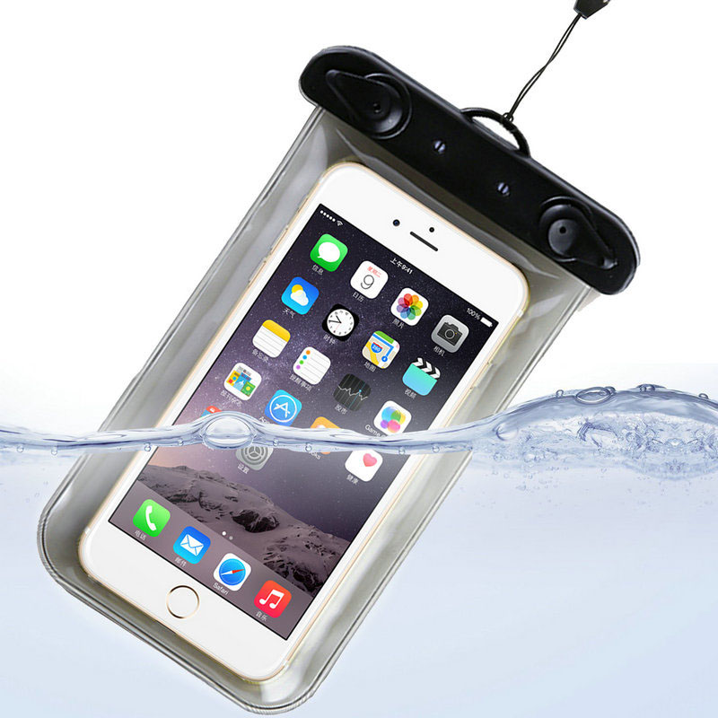 100% Sealed Waterproof Bag Case Pouch Durable Water proof Underwater Cover Case For iPhone 7 6/6 Plus Samsung Galaxy S6 S5 S4(China (Mainland))