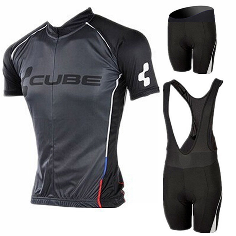 2016 Brand Pro Team Cube Cycling Jersey Ropa Ciclismo Quick-Dry Sports Jersey Cycling Clothing GEL Pad Bike Wear Mtb Jersey(China (Mainland))