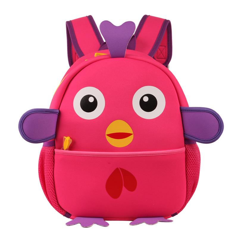Child toddler school bags preschool cartoon backpack bag lovely chick kindergarten schoolbag kids school satchel rucksack