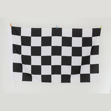 180*300cm digital print checkered flags,5.9×9.8ft F1 race check banners,100% polyester black and white chequered flag