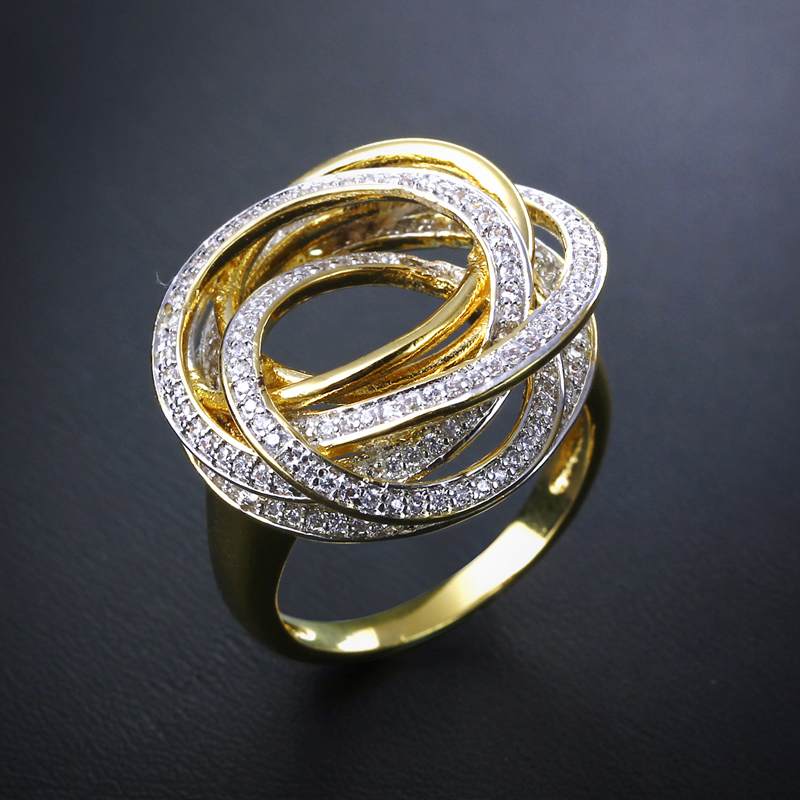 aliexpress buy new design engagement ring gold