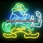 University of Notre Dame Fighting Irish Handcrafted Neon Sign Neon Light Sign Beerbar Sign Neon Beer Sign 24x24.Free Shipping!(China (Mainland))