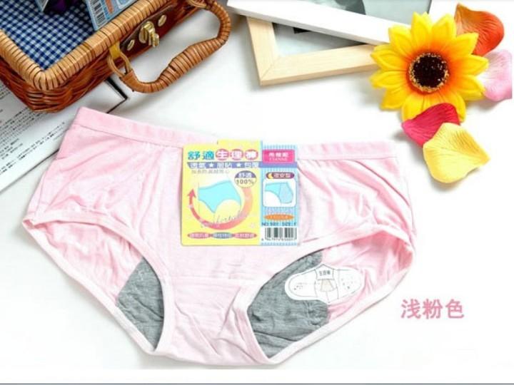 Высококачественные Женские трусы с защитой от менструаций для менструального 014
