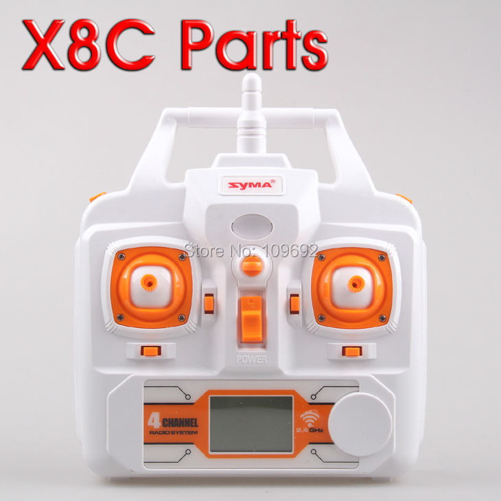 Syma x8c aircraft remote control aircraft 6axis flying saucer X8C genuine original factory parts X8C remote controller X8C-21