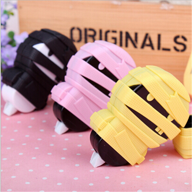 Korea Mummy shape correction tape Candy colors PVC Packed correction tape Office School Stationery Supply Student Prize(China (Mainland))
