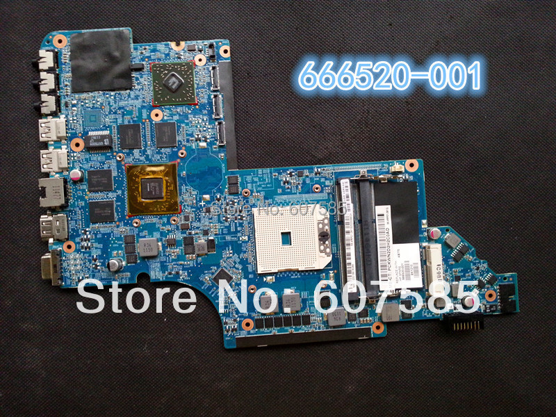 For HP DV7-6000 666520-001 Mainboard System Board AMD&amp;100% Tested+Free Shipping<br><br>Aliexpress