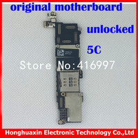 free shipping original unlocked mainboard for apple iphone 5C Motherboard Systemboard good quality main boards Europea version