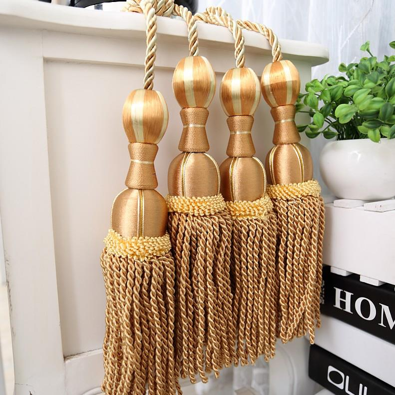 The curtain accessories hanging ball curtains tied rope - Lazos para cortinas ...