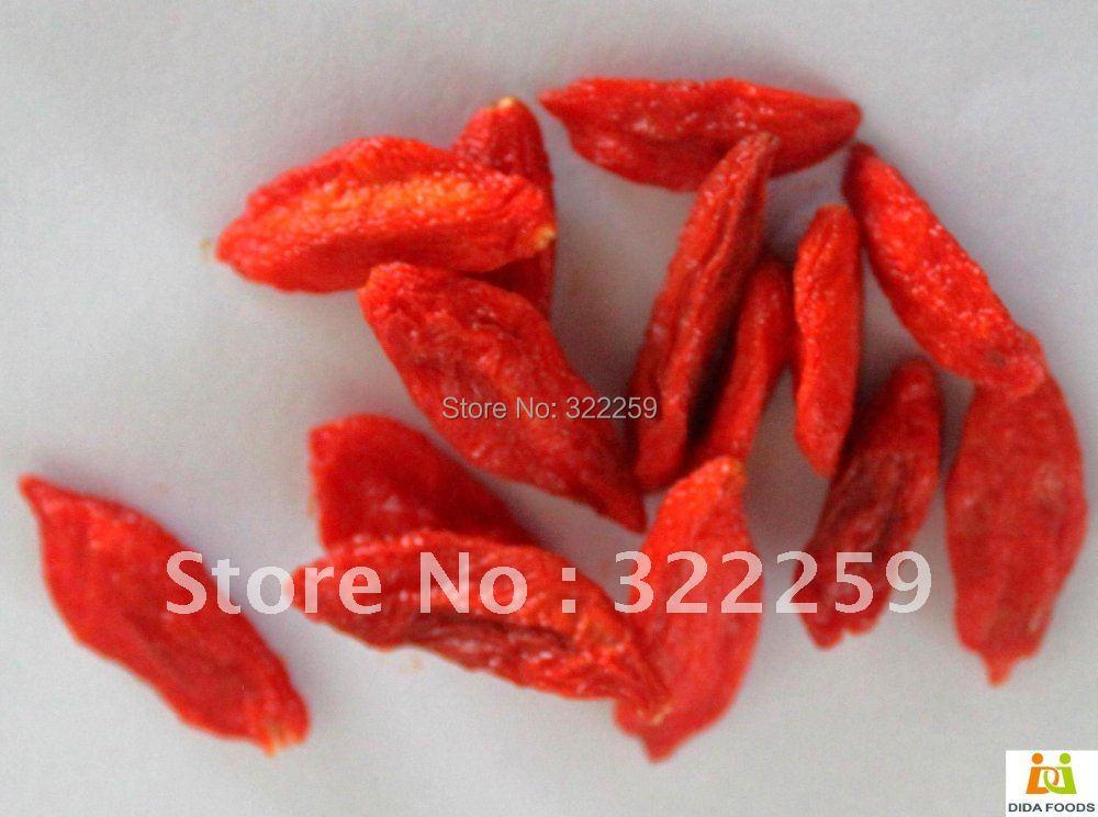 5 kg/11 lbs ,Ningxia Goji Berries Pure Certified ORGANIC /Chinese Medlar,Dried Fruit wholesale(China (Mainland))
